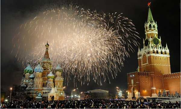 Moscow New Year's Eve
