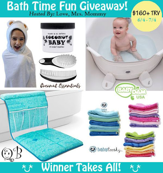 Bath Time Fun Giveaway – Work Money Fun