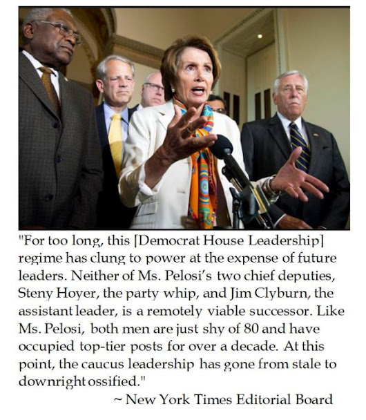 The Old Grey Lady on the Ossified House Democrat Leadership