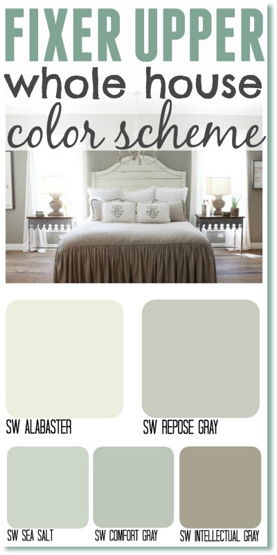 Fixer Upper Inspired Color Schemes For The One Who Can T Make Up Her Mind The Weathered Fox