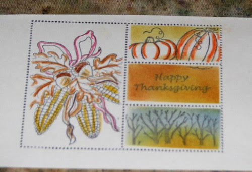 Faux Postage Stamps 011