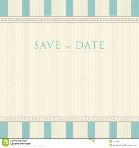 Save The Date With Vintage Background Artwork Royalty Free