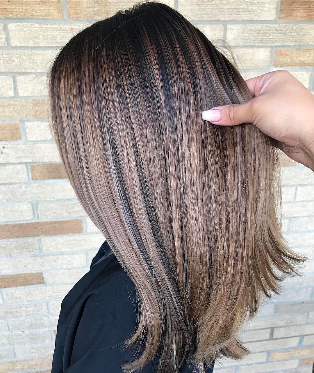 Medium Length Brown Hair - Hairstyle Men