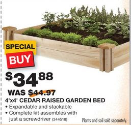 "More Home Depot Spring ""Black Friday"" Picks: Raised Garden Bed ..."