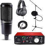 Focusrite Scarlett Solo 2nd Gen USB Audio Interface and Recording BU