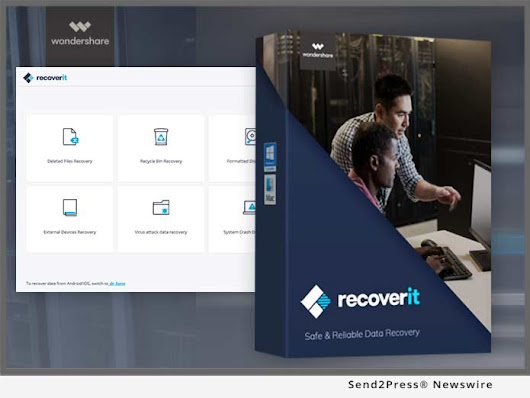 Newly Released Wondershare Recoverit for Mac 7.3.2 Supports Encrypted-APFS File Scanning and Recovery | Send2Press Newswire