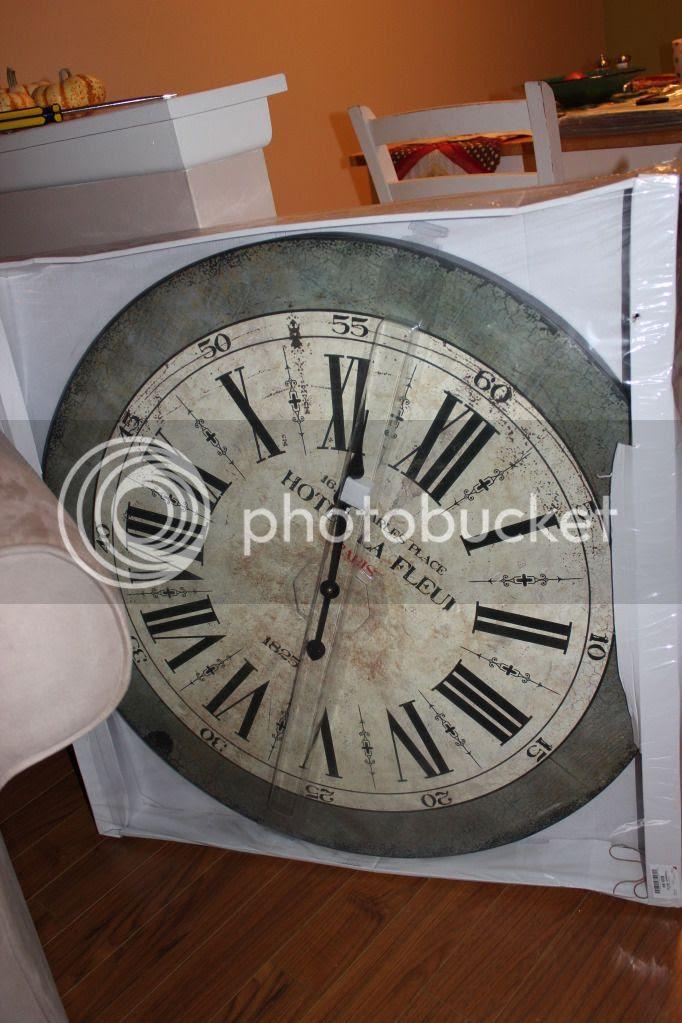 Big Clock - Burlington Coat Factory