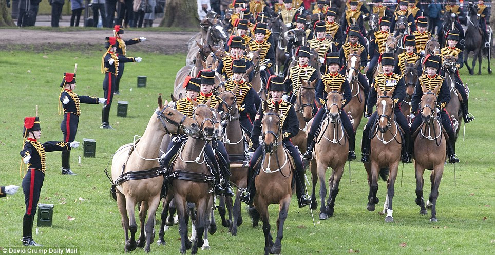 Rigorous: It takes four to five years to become a fully trained military saddler in the King's Troop