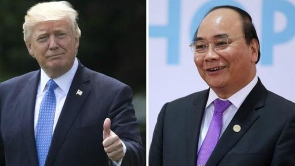 Tổng thống Donald Trump sẽ tiếp Thủ tướng Nguyễn Xuân Phúc vào ngày 31-5. Ảnh: REUTERS