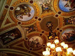 Ceiling in the President's Room