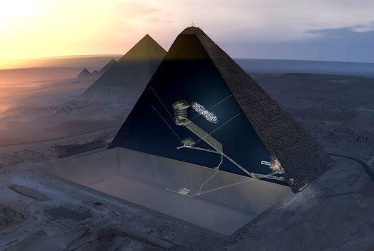 Particle physicists detect a mysterious void inside Egypt's Great Pyramid – GeekWire