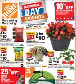 Home Depot Weekly Ad Memorial Day Insured By Ross