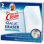 Mr Clean 43515 Original Magic Eraser Cleaning Pad, 2-count