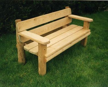 Metal garden bench | Kris Allen Daily
