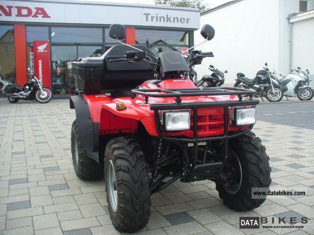 2005 Honda Trx 250 4x2 Good Condition