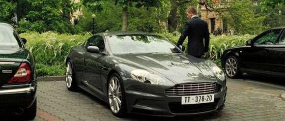 James Bond 007 Aston Martin DBS