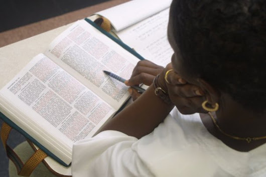 Tips for Reading and Studying the Bible
