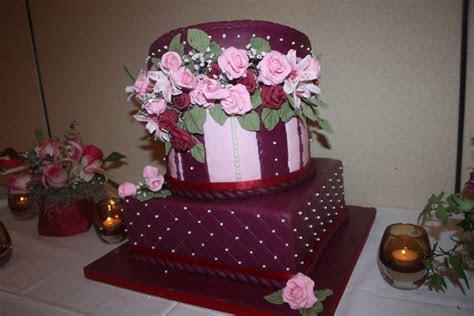 65Th Wedding Anniversary Cake   CakeCentral.com