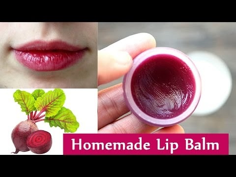 Get Baby Soft and Pink Lips Naturally at Home | Make Your Own Lip Balm