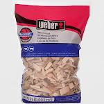 Weber Hickory Wood Chips, 192 Cu. In. bag