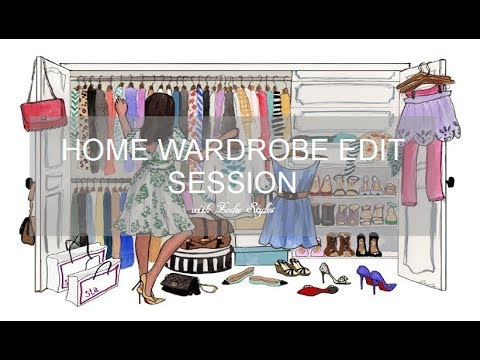 BOOK A HOME WARDROBE EDIT SESSION WITH ME!