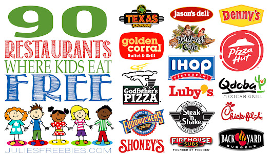 Kids Eat Free Restaurant List
