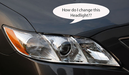 How to Change Head Light Bulbs in Your Toyota Camry - The Motor Bookstore Blog