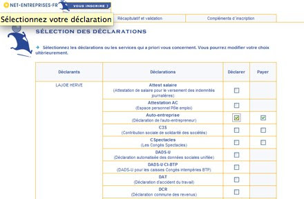 declarationAE-declaration
