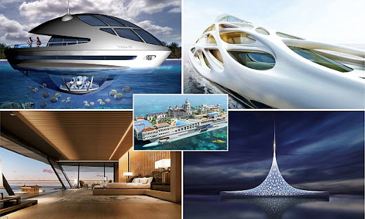 The superyachts of the future revealed