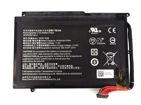 LAPTOP-BATTERIE Razer RC30-0220