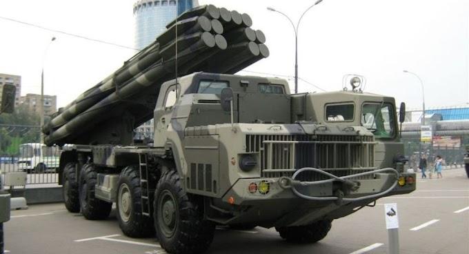 Novíssimos lançadores múltiplos de foguetes Tornado-S executaram 1º lançamento