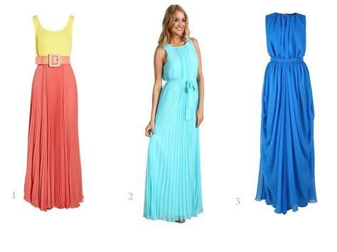 maxi dress for beach wedding   Bridesmaid Dresses and