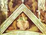 Michelangelo. The Ancestors of Christ: Jesse, David and Solomon.