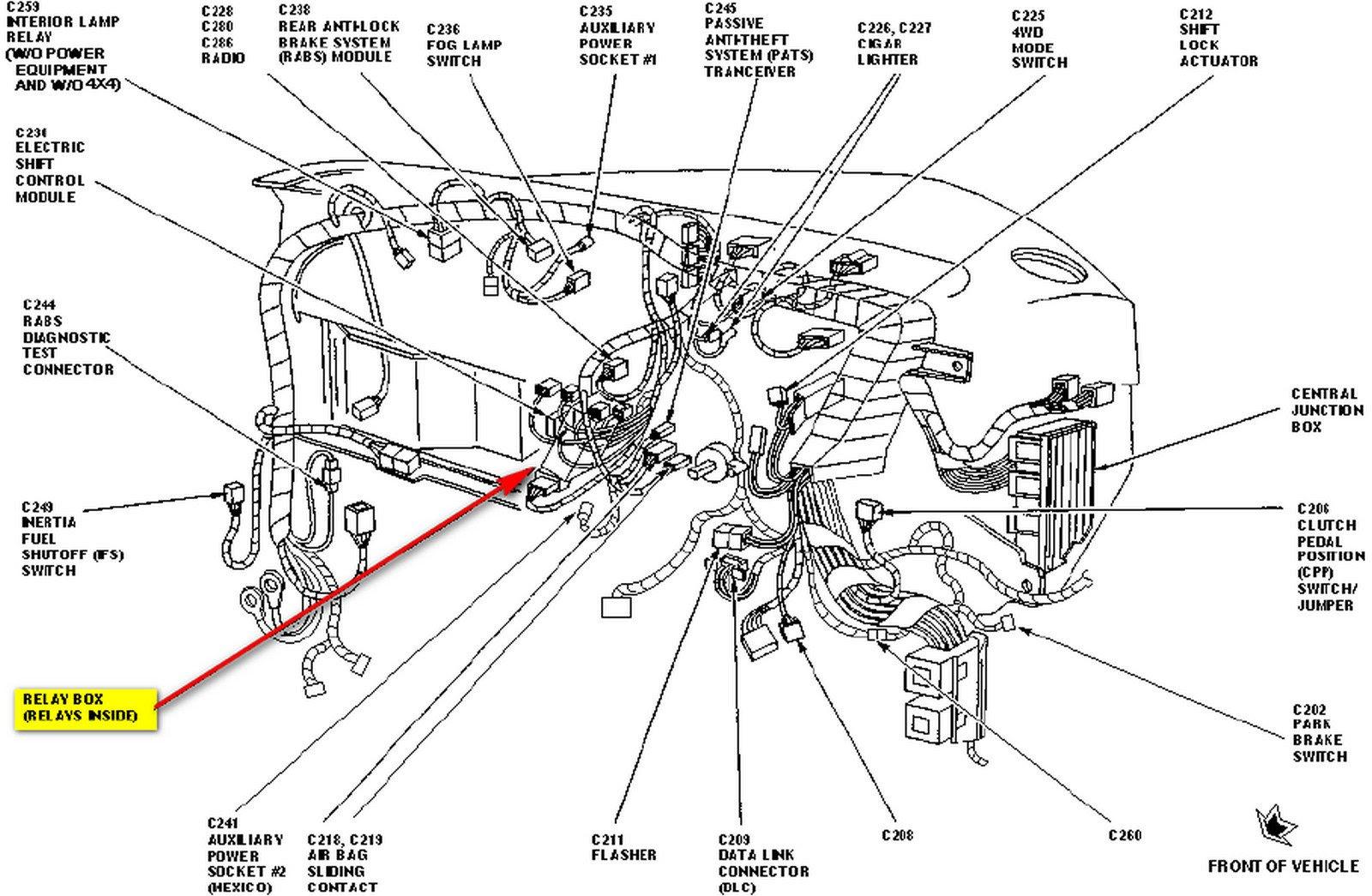 [DIAGRAM] Wiring Diagram De Ford Ranger 1997 FULL Version