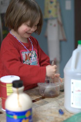 Making Aurora bread