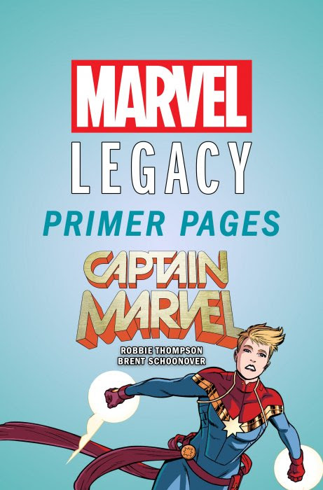 Captain Marvel - Marvel Legacy Primer Pages #1