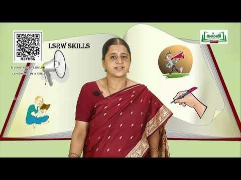 11th English Chapter 3 Vocabulary Part 3 Kalvi TV