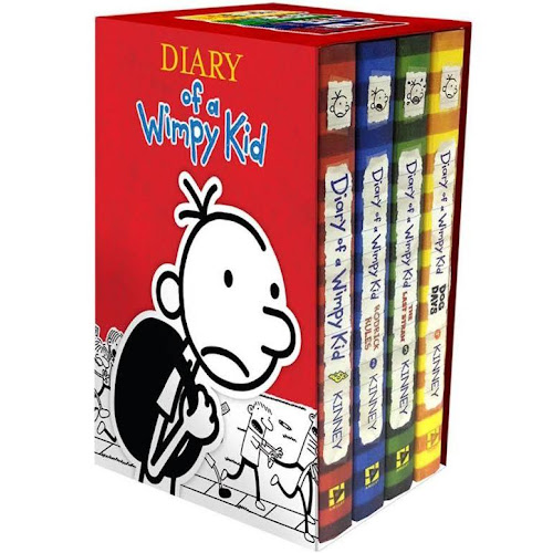 Google express diary of a wimpy kid box of books 1 4 revised book diary of a wimpy kid box of books 1 4 revised book solutioingenieria Choice Image