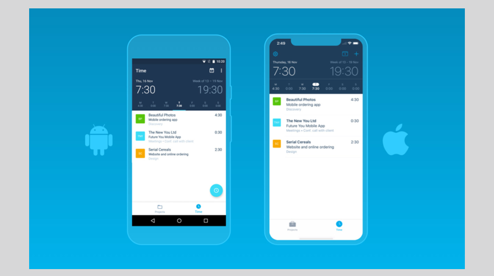 Xero Projects App Now Available for Android and iOS