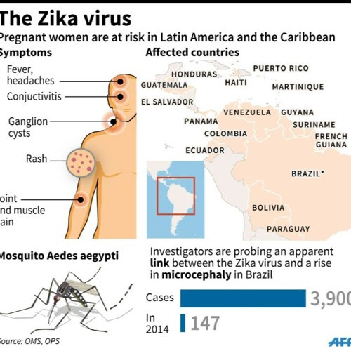 The 411 on the Zika Virus by Jeff White. Fit Minute KYOO 99.1 FM