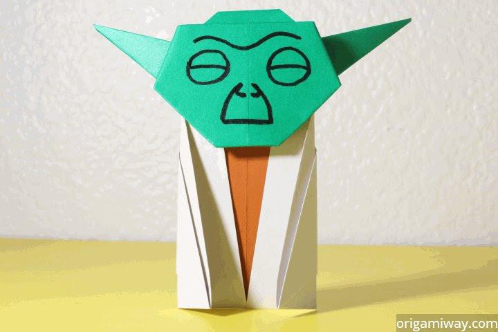 easy origami yoda