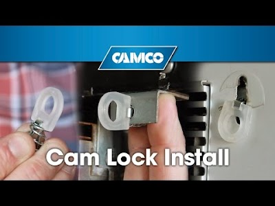 RV product videos from Camco: Water Heater Door Cam Lock, Conditioning Your Heated Drinking Water Hose, PowerGrip Universal Cable Lock, Lantern Hanger, Safety Fork