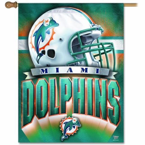 Fanmats Seattle Seahawks 3 Ft X 6 Ft Football Field: NFL Banner Flag: Wincraft Miami Dolphins 27x37 Vertical Flag