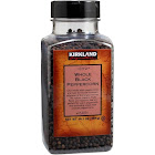Kirkland Signature Whole Tellicherry Peppercorns - 14.1 oz jar