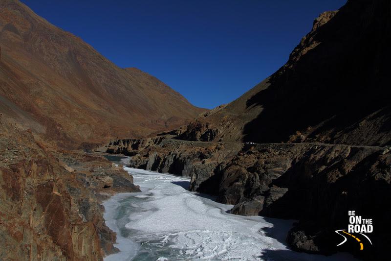 The famous Chadar trek of Ladakh