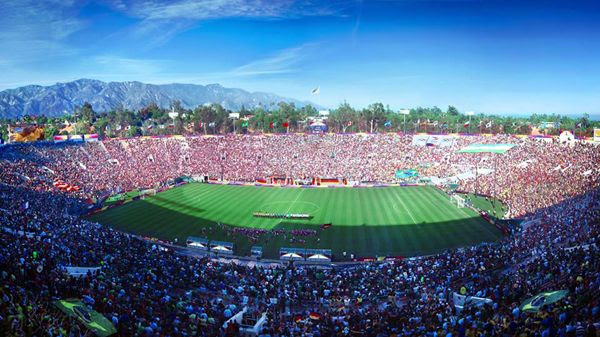 The Rose Bowl in Pasadena is the proposed venue for the soccer finals during the 2028 Los Angeles Games.