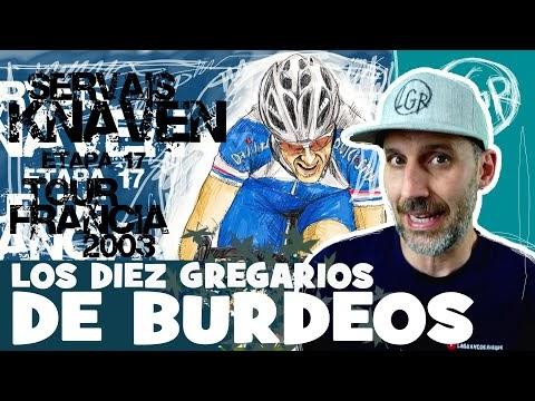 TDF2003. 'SERVAIS KNAVEN Y LOS 10 GREGARIOS DE BURDEOS' Tour de Francia 2003. Etapa 17 - Alfonso Blanco
