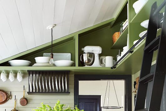 Yep, You Can Put Shelves There: 5 Inspired Storage Ideas