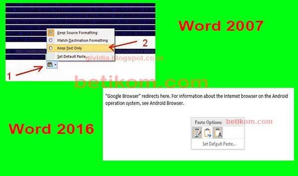 Cara Menghilangkan Blok Warna Di Word - downloadslasopa