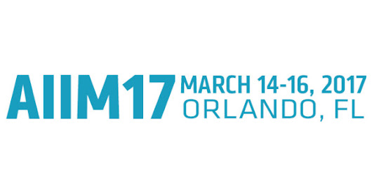 The AIIM Conference 2017
